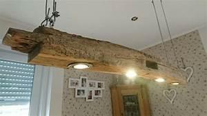 Pendelleuchte Esstisch Holz : h ngelampe holz eiche esstisch antik balken fachwerk vintage led diy in 2019 ~ Watch28wear.com Haus und Dekorationen