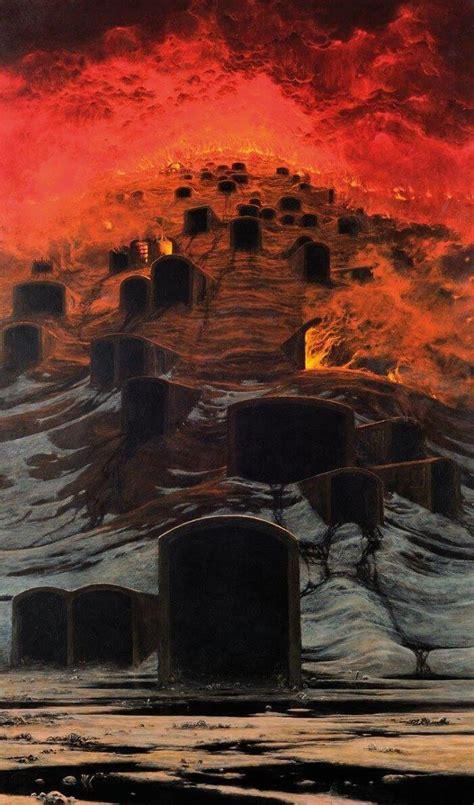 nightmarish  incredibly beautiful paintings