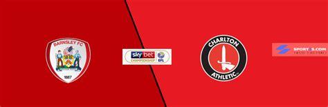 Barnsley vs Charlton Athletic Live Score, Prediction, H2H ...