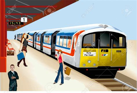 Station Clipart Subway Clipart Underground Pencil And In Color