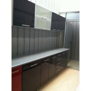 discount meuble de cuisine cuisine discount 2m60 en kit coloris coloris noir