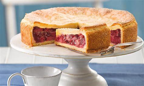 gefuellter rhabarber kuchen rezept dr oetker