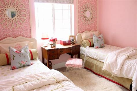 modern ideas  twin girls bedroom   colors freshnist