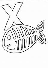 Fish Ray Letter Preschool Crafts Craft Drawing Template Alphabet Animal Activities Coloring Printable Colouring Scribd Toddler Xray Children Getdrawings Letters sketch template