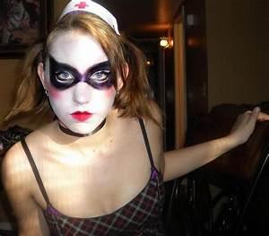 Harley Quinn Arkham makeup by angelspast on DeviantArt