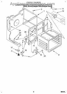 Parts For Whirlpool Rf375pxdn0  Oven Parts