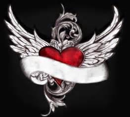 Winged Heart Tattoo