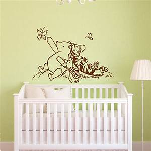 winnie the pooh wall decals nursery classic winnie the pooh With winnie the pooh wall decals
