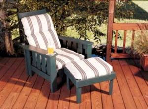 weather morris chair woodworking furniture plans
