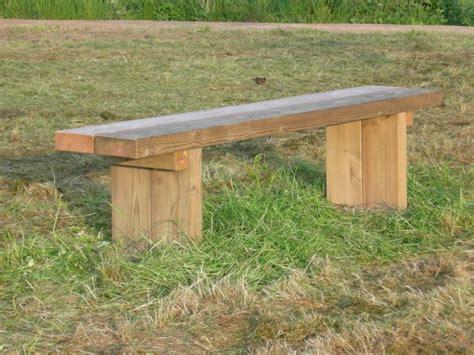 banc de cuisine en bois espaces verts bancs tables banc rustique