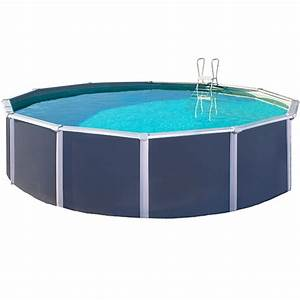 Piscine Hors Sol Metal : piscine hors sol m tal anthracite varuna trigano diam 3 ~ Dailycaller-alerts.com Idées de Décoration