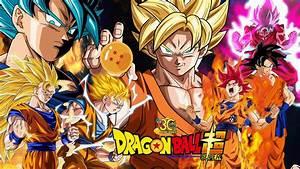 Dragon Ball Super Wallpaper - Goku's Evolution by ...