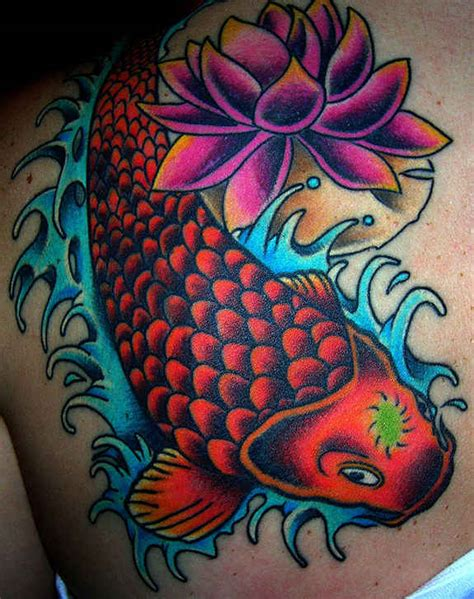 nice fish koi tattoos images  meaning