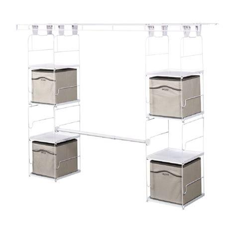 rubbermaid closet helper 4 shelf home design ideas