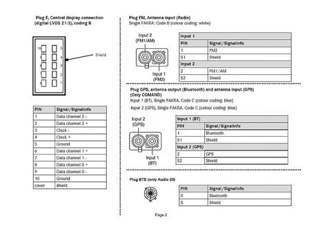 Mercede Radio Wiring Diagram For 2003 by Mercedes Car Radio Stereo Audio Wiring Diagram Autoradio