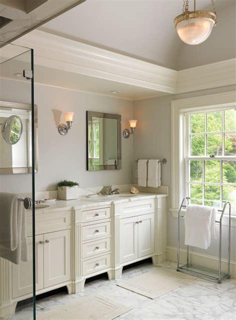 cream  gray bathroom traditional bathroom tobi