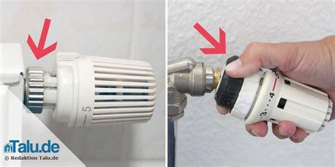 thermostat für heizung heizungsthermostat wechseln diy anleitung talu de