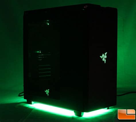 best pc case lighting nzxt h440 razer edition mid tower case review ca h440w