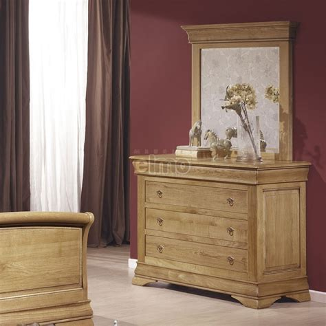 Commode Style Louis Philippe by Commode Ch 234 Ne Massif Style Louis Philippe Miroir Assorti