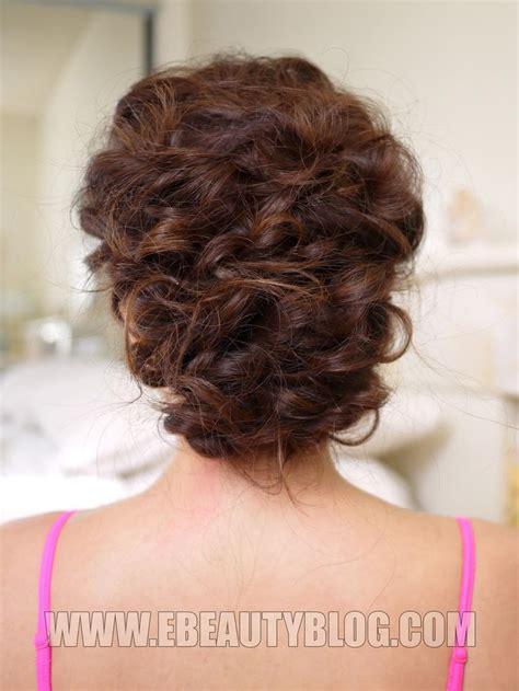 ebeautyblog com easy messy updo hair tutorial hair