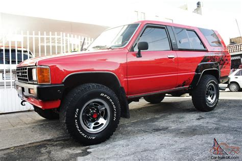 Toyota 4x4 by Toyota 4runner 1986 4x4 Best