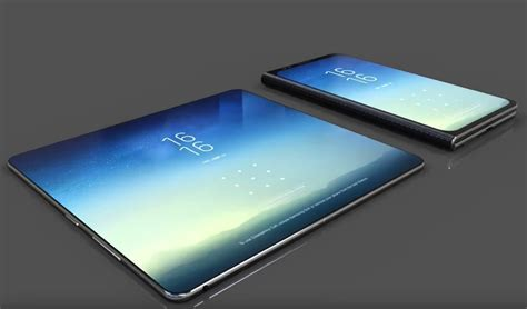 this galaxy x foldable smartphone concept seems smart but