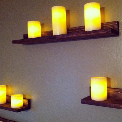 ana white candle ledges diy projects