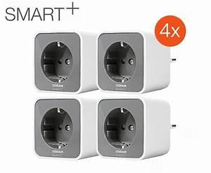 Smart Home Wlan : 4er pack osram smart plug wlan schaltbare steckdose smart ~ Lizthompson.info Haus und Dekorationen