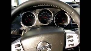 Engine Oil Light On Nissan Maxima Oil Change Youtube