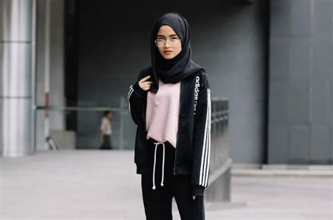 inspirasi fashion kasual  selebgram hijab indonesia