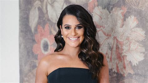 Lea Michele's Getting Ready Diary for 2018 Golden Globes