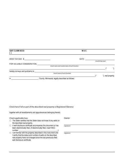 quick deed form free printable 47 free quit claim deed forms templates free template