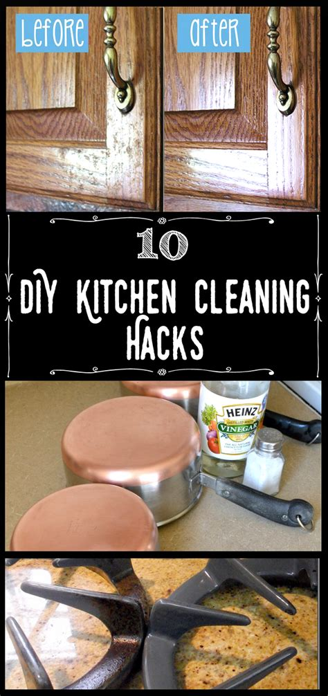 diy kitchen cleaning hacks cleaning hacks cleaning recipes diy kitchen