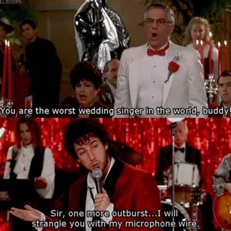 adam sandler wedding singer quotes quotesgram