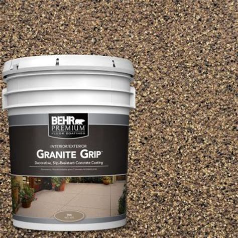 behr premium 5 gal gg 16 baltic granite grip
