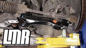 Mustang Front Lower Control Arm Install