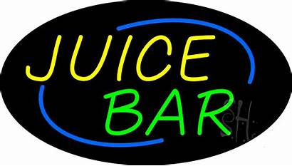 Neon Bar Sign Juice Animated Deco Signs