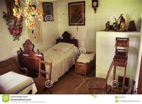 chambre à coucher rustique une vieille chambre à coucher en bois et rustique