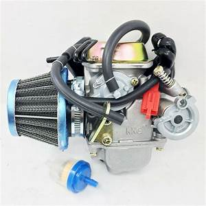 Performance Carburetor W  Filter Gy6 150cc Scooter Roketa