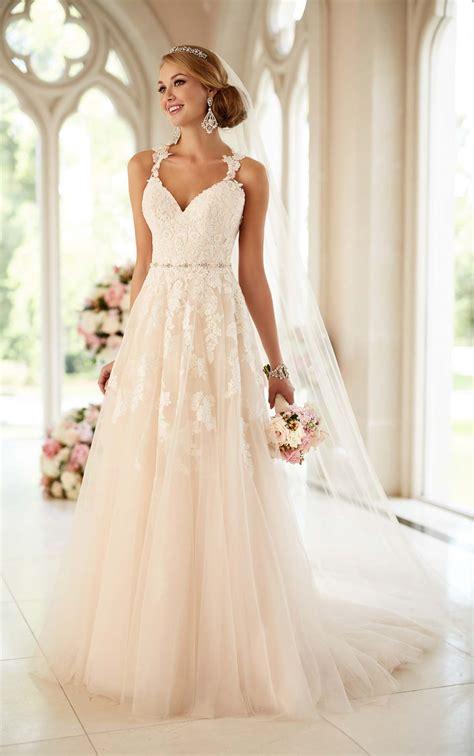 Lace Illusion Back Wedding Gown I Stella York Wedding Dresses