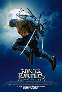 Nerdly » Another new trailer & poster for 'TMNT: Out of ...