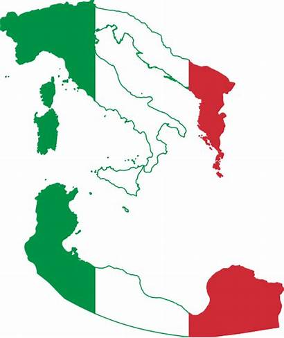 Flag Italy Map Greater Svg Wikimedia Venice