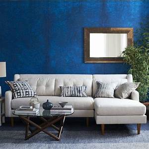 Crosby sectional west elm for West elm crosby sectional sofa
