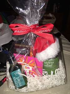 Christmas Gift For Coworkers Perfect Christmas Gift Or Secret Santa Basket For Co