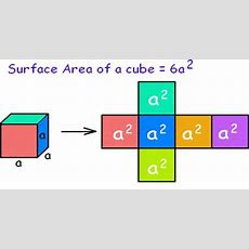 How Calculate The Surface Area Of A Cube?  Assignment Point