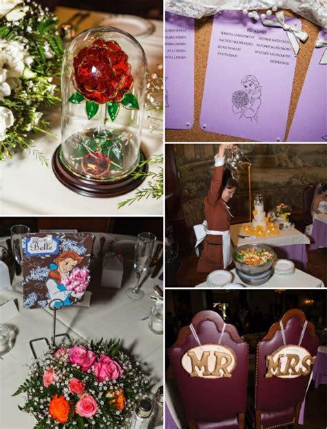 la belle  la bete disney decoration en  idees