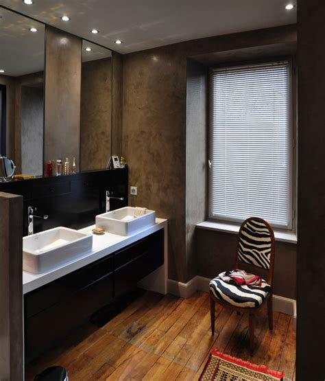 chambre avec salle d eau chambre salle d 39 eau dressing contemporain salle de
