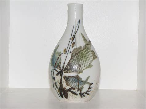 antik  royal copenhagen art pottery diana vase