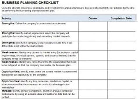 business continuity plan checklist template announcement