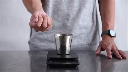 Press French Brew Cold Grind Coffee Step